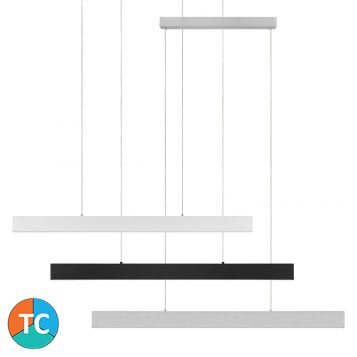 L2-11528 Tri-Colour LED Linear Pendant Light Range - 3 Sizes