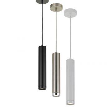 L2-1677 Round Tubular LED Pendant Light Range