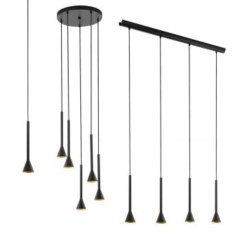 L2-11520 Black LED Pendant Light Range