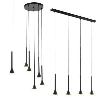 L2-11520 Black LED Pendant Light Range
