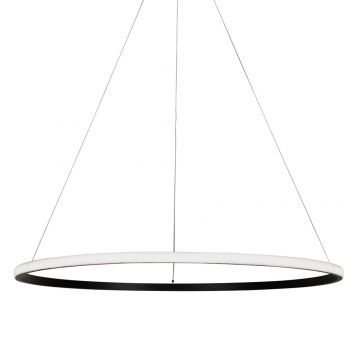 L2-11220 LED Ring Pendant Light - Black