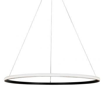 L2-11220 LED Ring Pendant Light - Black