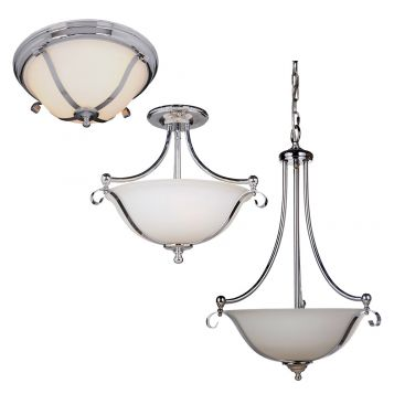 L2-1914 Chrome Classical Light Range