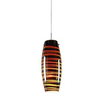 L2-11208 3D Chrome Glass Pendant Light