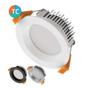 13w Deco-13 Wide Beam LED Downlight (90 Degree Beam - 900lm) - Tri-Colour