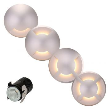 L2U-4551 12v Aluminium LED In-Ground Driveway Light Range
