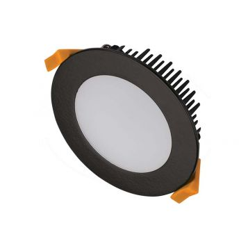13w DL1560 Black Tri-Colour LED Downlight (120 Degree Beam - 1080lm)
