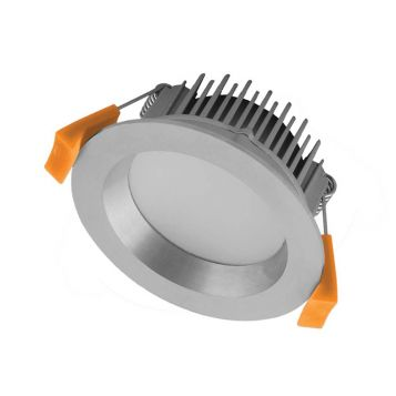13w DL1260 Satin Chrome Tri-Colour LED Downlight (90 Degree Beam - 1000lm)