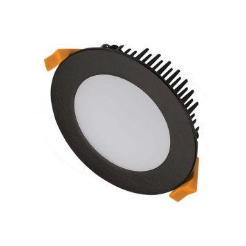 13w DL1640 Black LED Downlight (120 Degree Beam - 950lm)
