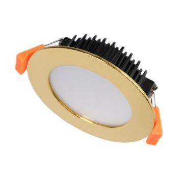 13w DL1640 Gold LED Downlight (120 Degree Beam - 950lm)