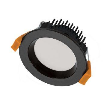 13w DL1650 Black LED Downlight (90 Degree Beam - 940lm)