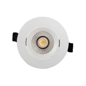 10w DL9411 White Adjustable LED Downlight (60 Degree Beam - 850lm)