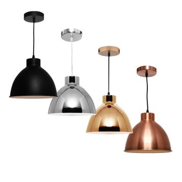 L2-11138 Metal Dome Pendant Light Range from