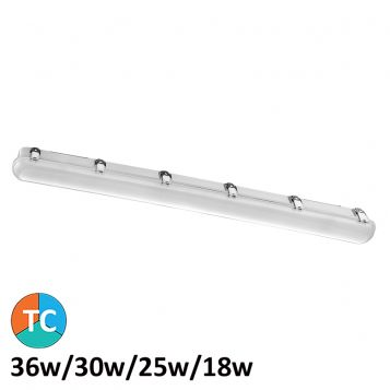 L2U-7346 36w LED Weatherproof Batten Light with Sensor