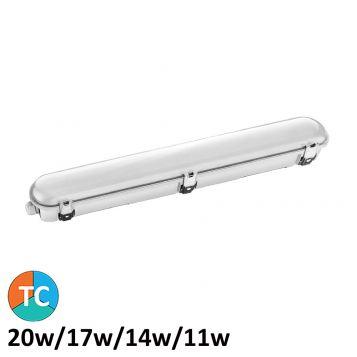 L2U-7347 20w LED Weatherproof Batten Light