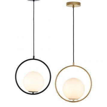L2-11402 Opal Glass Ball Pendant Light Range