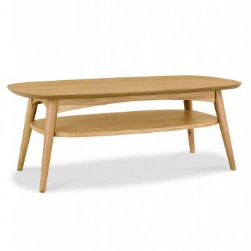 F2-107 Oak Coffee Table