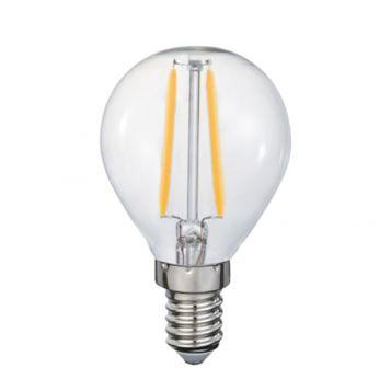 4w P45 Fancy Round LED Filament Lamp - E14 Base