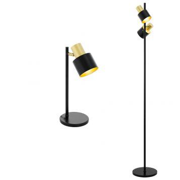 L2-5639Adjustable Black Table & Floor Lamp Range