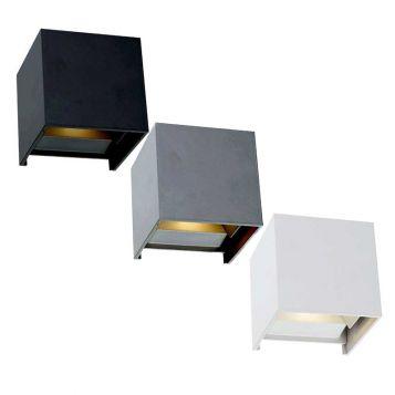 L2U-4298 Adjustable Beam LED Exterior Wall Light (IP44)