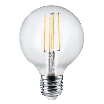 4w G95 Sphere LED Filament Lamp - E27 Base