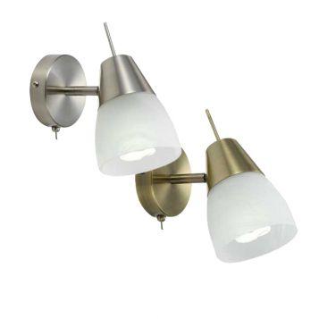 L2-6443 Adjustable Wall Light Range
