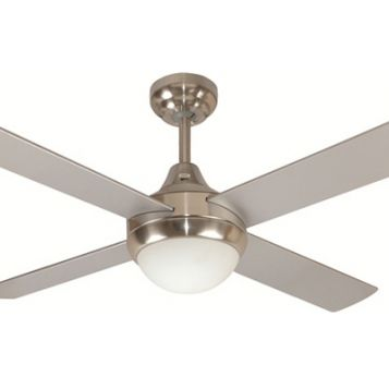 Glendale 1200 Ceiling Fan with Light - Brushed Chrome