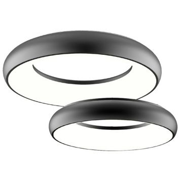 L2U-9204 Black Dimmable LED Ceiling Light Range from