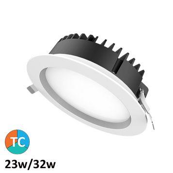 23w/32w Helix Tri-Colour LED Downlight (100 Degree Beam - 3410lm)