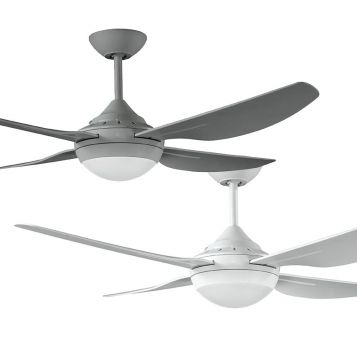 Harmony II 1220 Precision Moulded ABS Blade Ceiling Fan with LED Light
