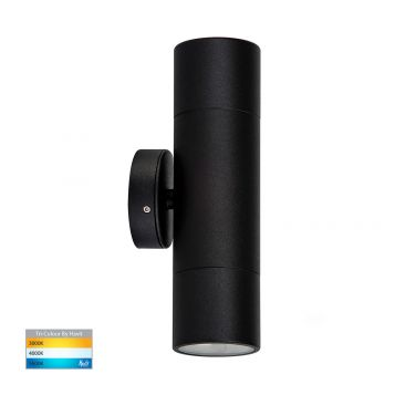 L2-759 Black Up/Down 12v/240v Wall Pillar Light