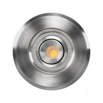 L2U-4731 3w Adjustable 12v LED In-ground Uplighter