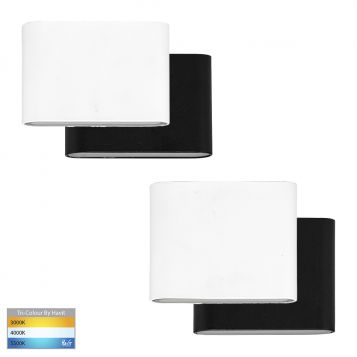 L2U-41121 Surface Mounted Tri-Colour LED Wall Light Range