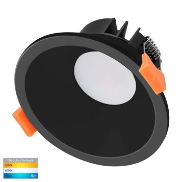 9w DL5528T Black LED Downlight (90 Degree Beam - 745lm)