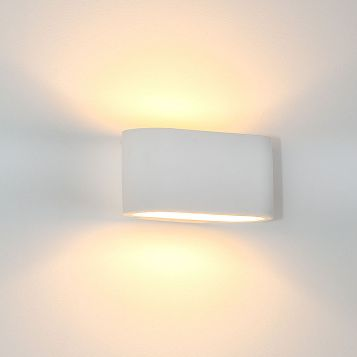 L2-6312 Plaster Wall Light with LED Lamps