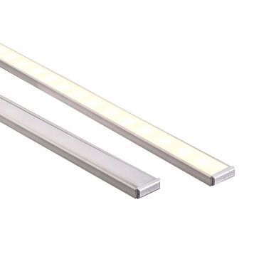 L2U-7229 Thin, Shallow Square Aluminium LED Profile