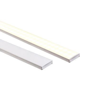 L2U-7220 Large Shallow Square Aluminium Profile