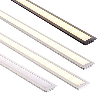 L2U-7201 Shallow Winged Square Aluminium Profile