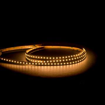 HV9722-IP20-128-3K 24v 9.6W 2835 long run LED Strip Light, warm white