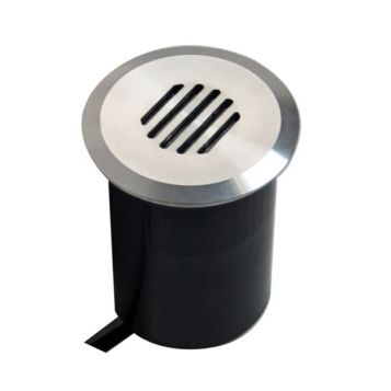 L2U-4924 12v In-Ground/Wall Light with grille