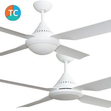 Imperial 1200mm ABS 4 Blade Ceiling Fan with Optional Light Range from