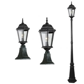 L2-7316 Traditional Exterior Pillar/Post Light Range