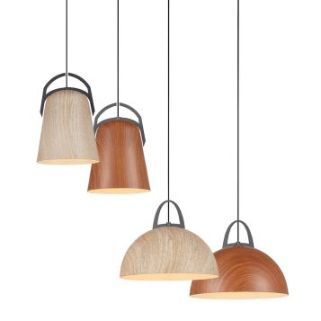 L2-11001 Wood Like Pendant Light Range