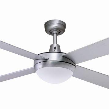 Lifestyle 24w LED Ceiling Fan - Brushed Aluminium