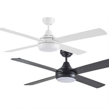 "Link 1220mm (48"") AC 4 Blade Ceiling Fan Range with LED Light"