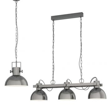 L2-11544 Chain Pendant Light Range - Antique Nickel