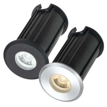 L2U-4972 12v LED In-Ground Uplighter Range - 3 Sizes from