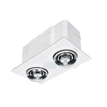 L2U-188 3in1 LED Bathroom Light, 2 Heat and Exhaust Fan