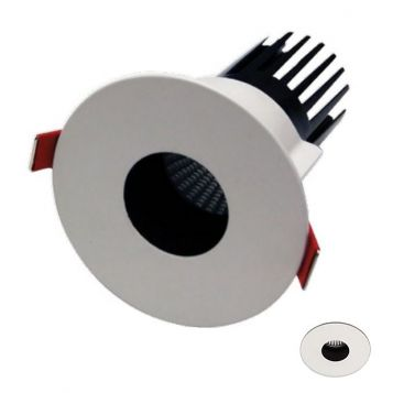 12w MDL-16 LED Downlight with Key Hole Frame Downlight (40 Beam - 880lm)