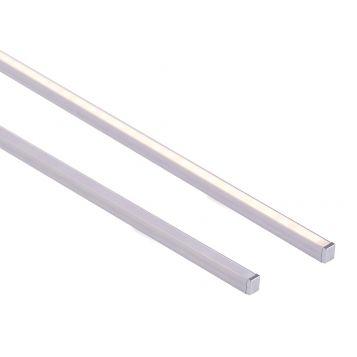 L2U-7244 Shallow Square Aluminium Profile